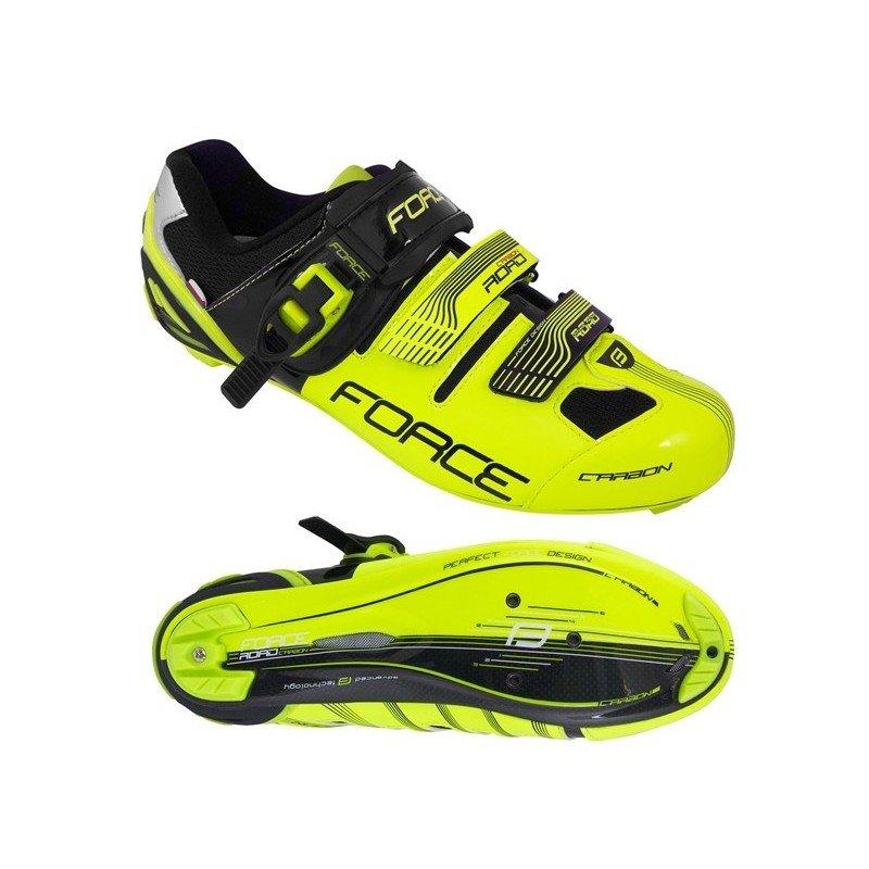 Sapatos Force Road  Carbono