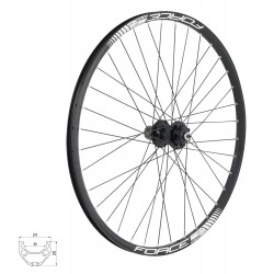Rodas FORCE BASIC DISC 26